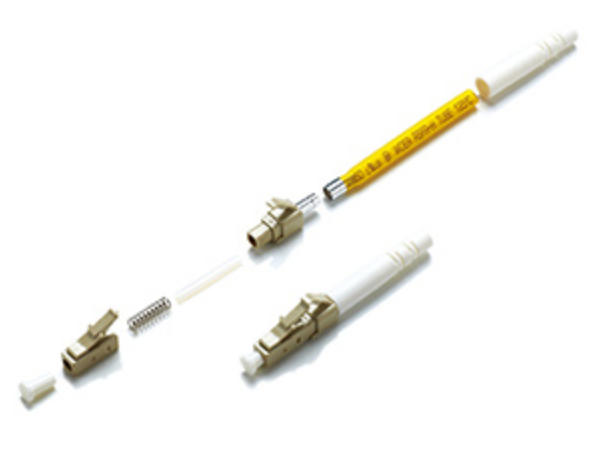 Fiber Optic Cable LC Connector 0.9 mm Mutilmode Fiber To The Home High Precision