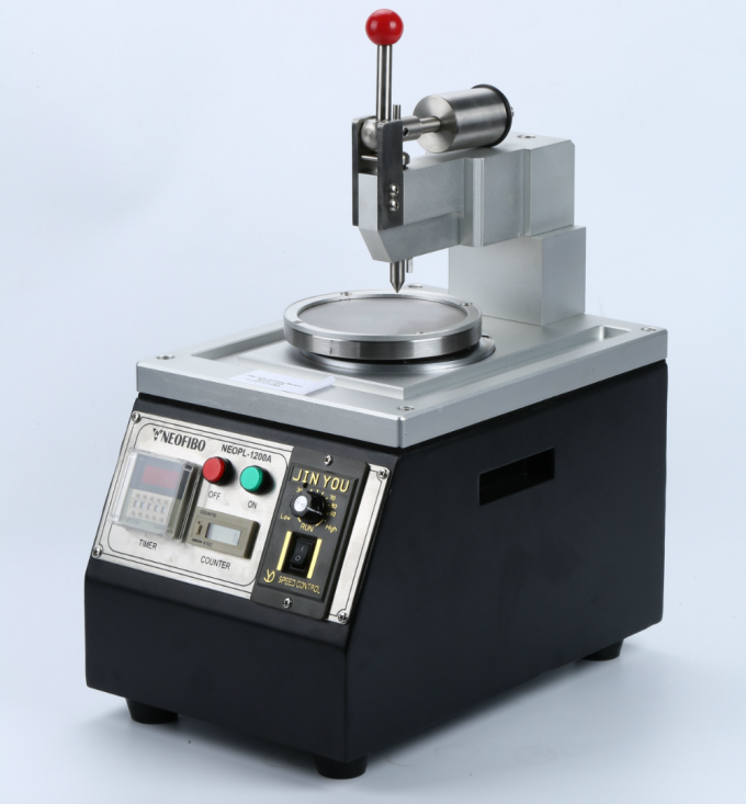 UPC APC PC Fiber Optic Polishing Equipment , Fibre Optic Grinding Machine