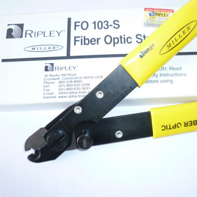 Original Ripley Miller Fiber Optic Cable Stripper Line FO 103-S Stripping Pliers