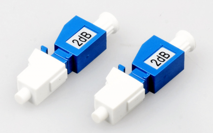 7DB Fiber Optic Attenuator , LC Male To Female Fixed Optical Attenuator