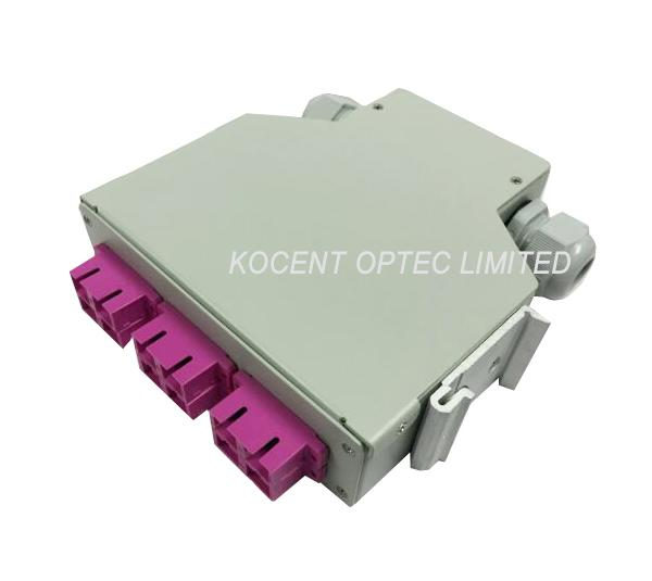 Indoor Rack Mountable Fiber Optic Terminal Box For FTTH GPON EPON