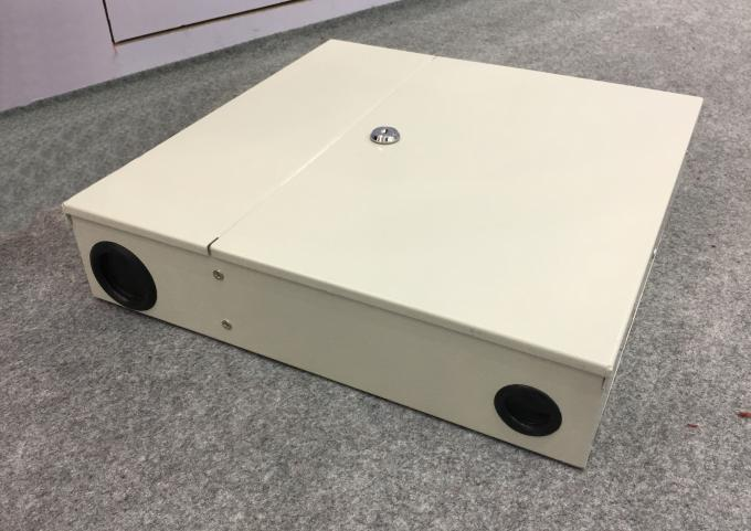 KCO-WTB-24A Wall mountable optical termination box 24 ports With SC/APC Pigtail