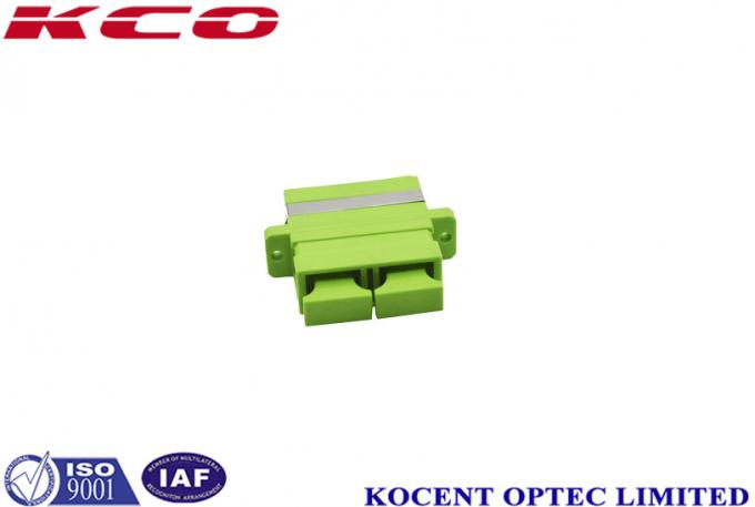 0.10dB Fiber Optic Adapter SC / APC For Telecommunication Networks 0