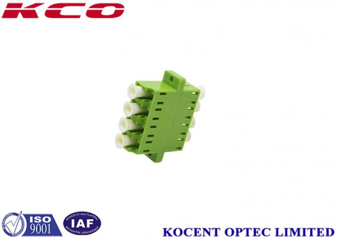 Multimode LC / APC Fiber Optic Adapter Without Dust Cap JIS Standard