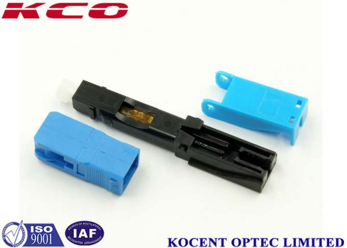 Quick Connector 2.0mm 3.0mm FTTX  SC /UPC , Field Assembly Connector