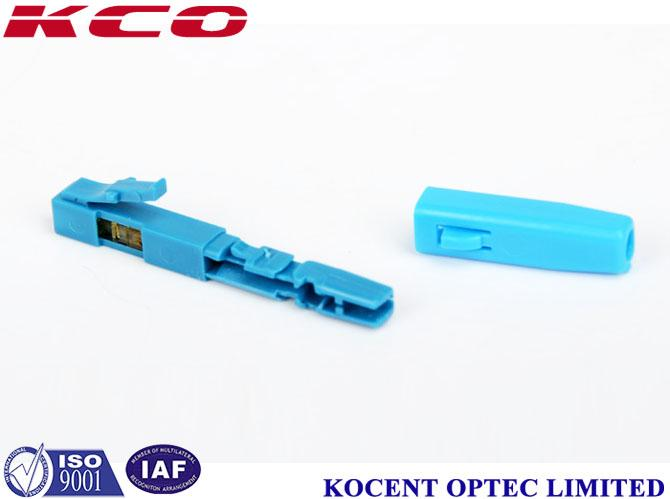 Field Assembly 2.0mm 3.0mm FTTX  LC /APC Quick Connector blue