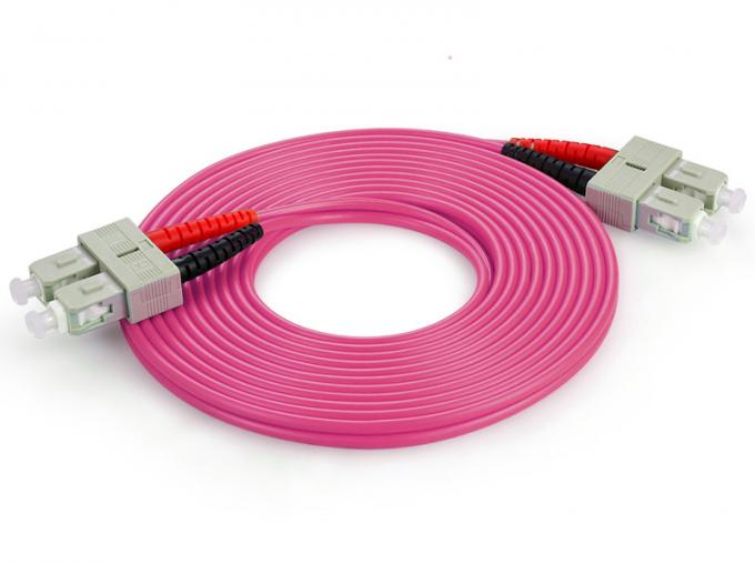 Duplex / Simplex Fiber Optic Patch Cord , Optical Fiber Patch Cable With FC / PC Connector