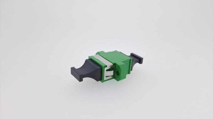 Single Mode MPO MTP Patch Cord Adaptor With Green Color 1260 ~ 1650nm Wave Length