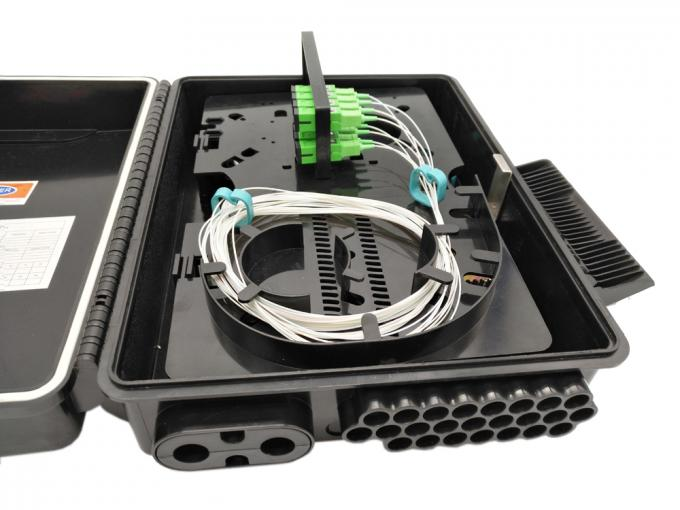 FDB ODP Fiber Optical Termination Box 24 Core Ftth Drop Cable Port Outdoor KCO-FAT-24W