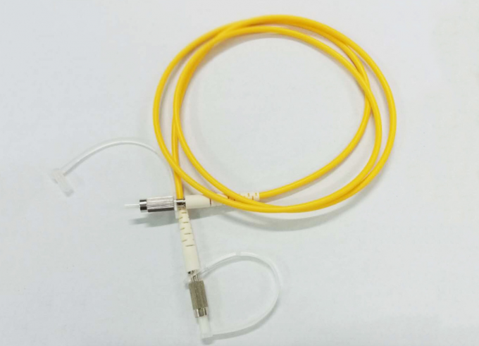 Single Mode Fiber Optic Pigtail Cables , G657B3 Simplex Patch Cord Pigtail MU UPC