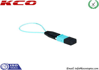 China Mono Mode MPO MTP Fiber Optic Loopback Cable / Plug for Cable Testing supplier