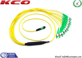 China 40G Fiber MPO MTP Patch Cord FC APC 12 Optical Fiber Jumpers supplier