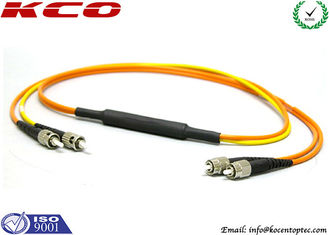 China Mode conditioning ST to FC Duplex Fiber Optic Patch Cord MM Transform into SM Patch Cord supplier