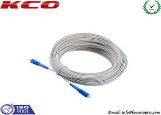 China FTTH 10 Gigabit Fiber Patch Cable SC To SC Flame Retardant Low Smoke Zero Halogen supplier