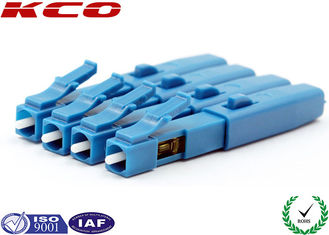 China SM 9/125 Fiber Optic Fast Connector LC UPC Un Polished Fiber To The Home supplier