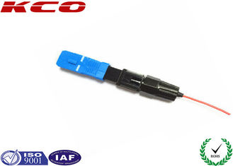 China 0.9 mm Cable Fiber Optic Fast Connector , CATV Indoor SC Fast Connector supplier