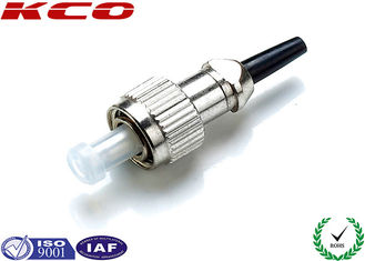China Corning Fiber Optic Connectors FC FC Connector 2.0 mm 3.0 mm Diameter supplier