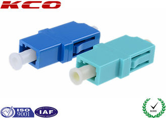 China LANS WANS Fiber Optic Adapters LC/APC LC/UPC LC/PC , Optical Fiber Adapter supplier
