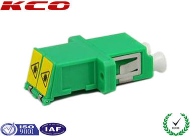 China Dual Chanel Duplex Fiber Optic Connector Adapters LC/APC LC/UPC LC/PC Type supplier