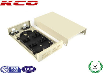 China 55dB ODF Metal FTTH Distribution Box / Optical Fiber Termination Box 24 Fibers supplier