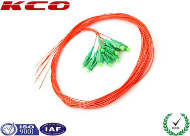 China 12 fibers LC Pigtail Fiber Optic , Optical Fiber Pigtail Single Mode Local Area Network supplier