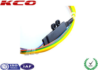 China Fan Out Kits Optical Fiber Patch Cable Patch Cord Pigtail SC Single Mode 4 Cores supplier