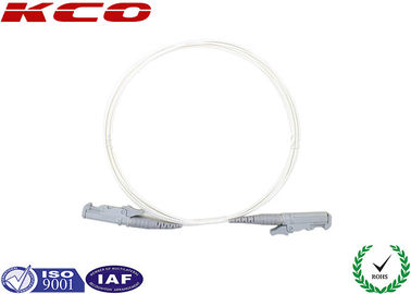 China E2000 Multimode OM2 OM3 OM4 fiber optic patch cable pigtail 0.9mm 2.0mm 3.0mm supplier