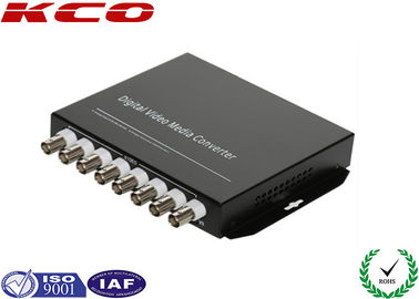 China Fibre Optic Media Converter Ethernet Copper Data Voice Video Type supplier