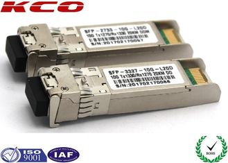 China 20KM 10GB Single Mode Simplex LC Connector SFP Fiber Optic Transceiver With DDM supplier