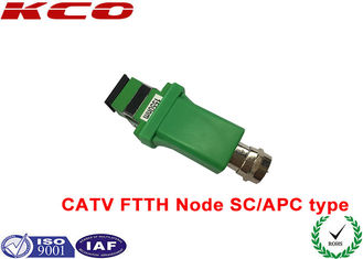 China SC / APC to RF Analog signal 1550nm Fiber Optic Adapter CATV FTTH receiver optical node supplier