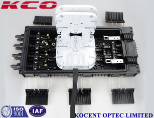 China Corrosion Resistance 6 In 8 Out Fiber Optic Splice Enclosures KCO-Inline-68A supplier