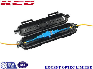 China Water Proof Fiber Optic Terminal Box , Mini 1 Cores Cable Distribution Box supplier