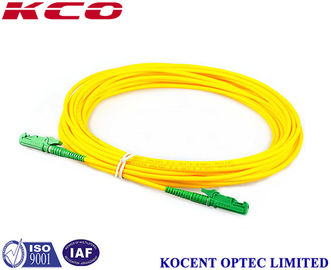 China RoHs Fiber Optic Patch Cord , Single Mode Fiber Jumpers 1m 2m 3m 5m 10m 20m 30m supplier