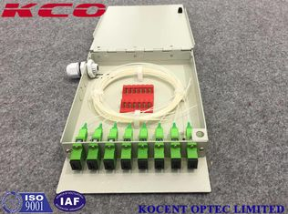China Wall Mount FTB OTB 8 Ports Fiber Optic Terminal Box FTTH GPON EPON KCO-FTB08D supplier