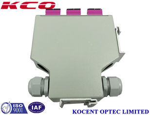 China Indoor Rack Mountable Fiber Optic Terminal Box For FTTH GPON EPON supplier