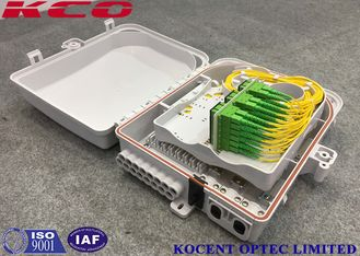 China FTTH CATV 1*32 Fiber Optic Terminal Box FDB Box Waterproof SC LC FC ST supplier