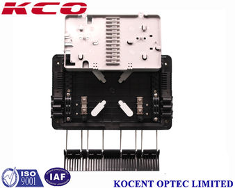 China Aerial 1*8 PLC Fiber Optic Splitter Box Outdoor Waterproof KCO-GJS08 For FTTH GPON ABS PP supplier