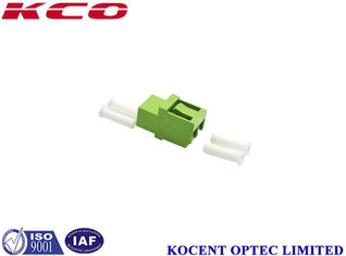 China Plastic LC / APC Fiber Optical Adapter For Medical & Military supplier