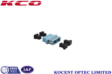 China Single Mode SC / UPC Fiber Optic Adapter , Fc Fiber Optic Adapter For LANS supplier