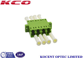 China Multimode LC / APC Fiber Optic Adapter Without Dust Cap JIS Standard supplier