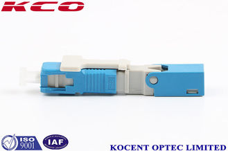 China SC/UPC Fiber Optical Fast Connector SM/MM , Field Assembly Connector 55mm/60mm supplier