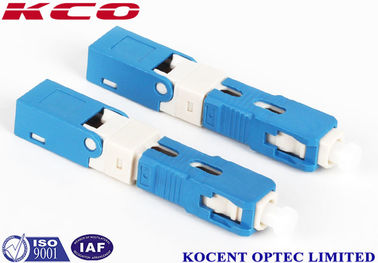 China blue SC /UPC Fiber Optic Fast Connector 2.0mm 3.0mm FTTX Solution Product supplier