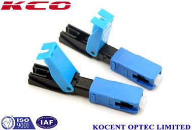 China Quick Connector 2.0mm 3.0mm FTTX  SC /UPC , Field Assembly Connector supplier