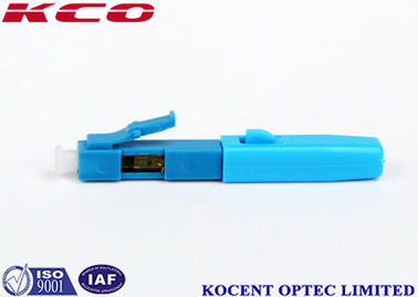 China Field Assembly 2.0mm 3.0mm FTTX  LC /APC Quick Connector blue supplier
