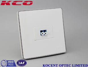 China Data Centers Fiber Optic Terminal Box / Outdoor Terminal Box Face Plate supplier