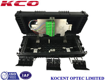 China Outdoor Fiber Enclosure / Fiber Optic Closure Splitter Enclosure Box PC ABS supplier