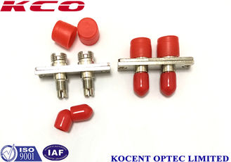China Fiber Optic Cable Adapter / Fiber Optic Adaptor Accurate External Size supplier