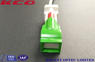 China Automatic Shutter Connector Fiber Optic Patch Cables Single Mode LSH SC/APC LC/APC supplier