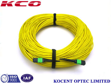 China MTP APC MPO MTP Patch Cord Jumper Cable 1260~1650nm Wave Length Apply For CATV supplier