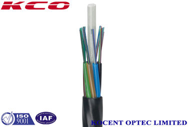 China 24 Core Single Mode Fiber Cable 9 / 125 Fast Installation For Underground Network supplier